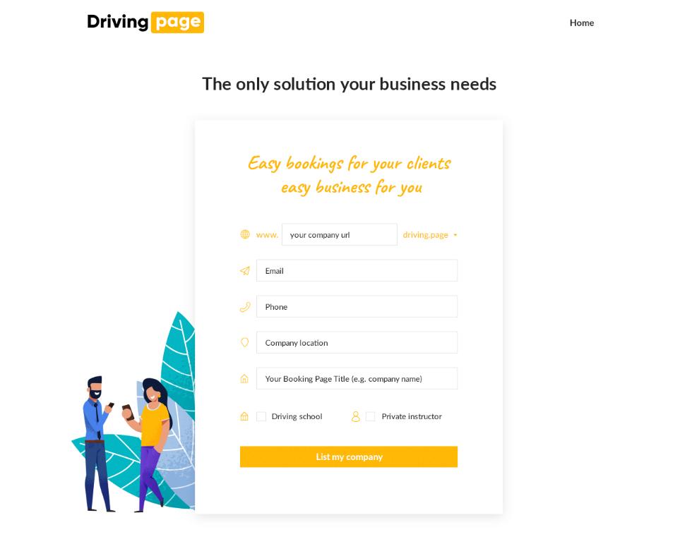 driving school marketing