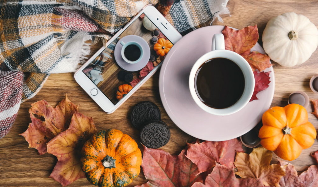 September Newsletter Coffee & Pumpkins