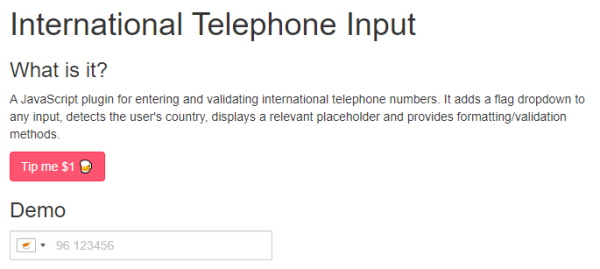 September Newsletter - telephone validation