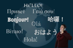 Multilingual Hello
