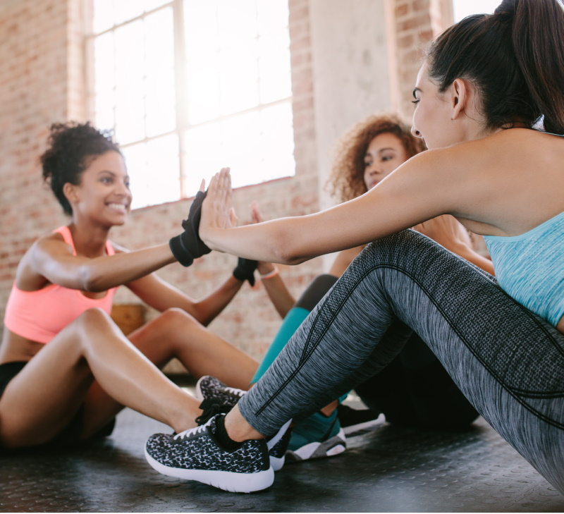 fitness trends - social group training
