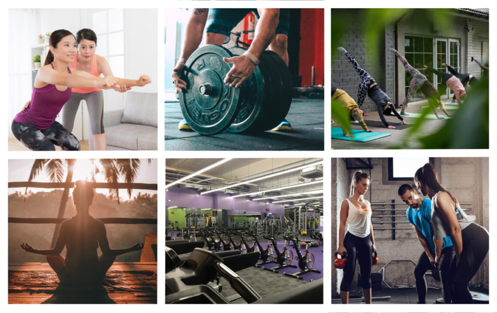 fitness trends - variety