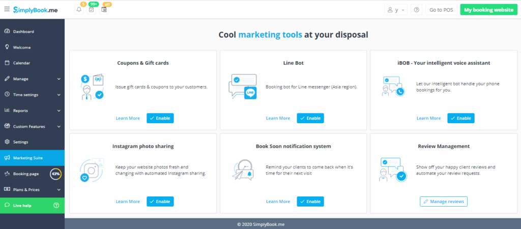 Marketing Suite - Cool Marketing tools