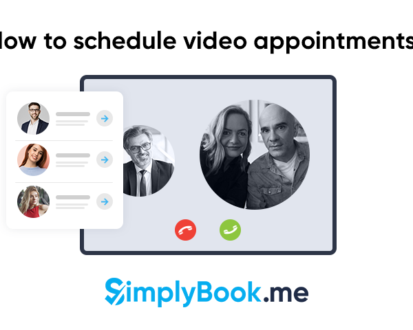 Video appointment scheduling
