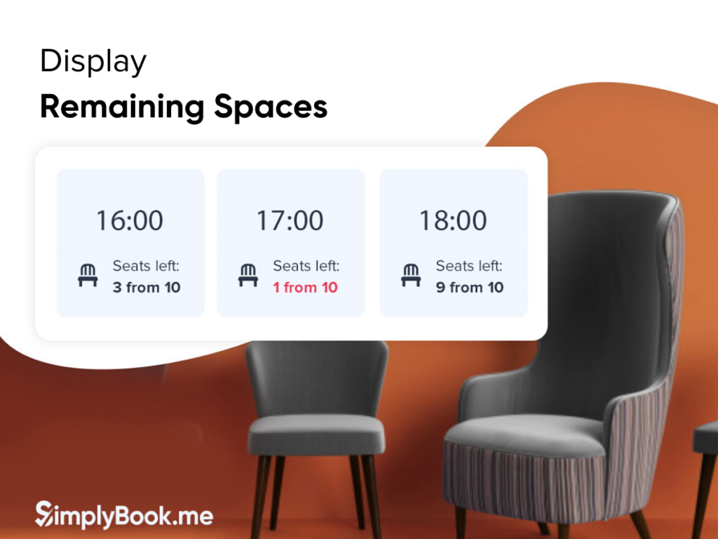 Display Remaining Spaces