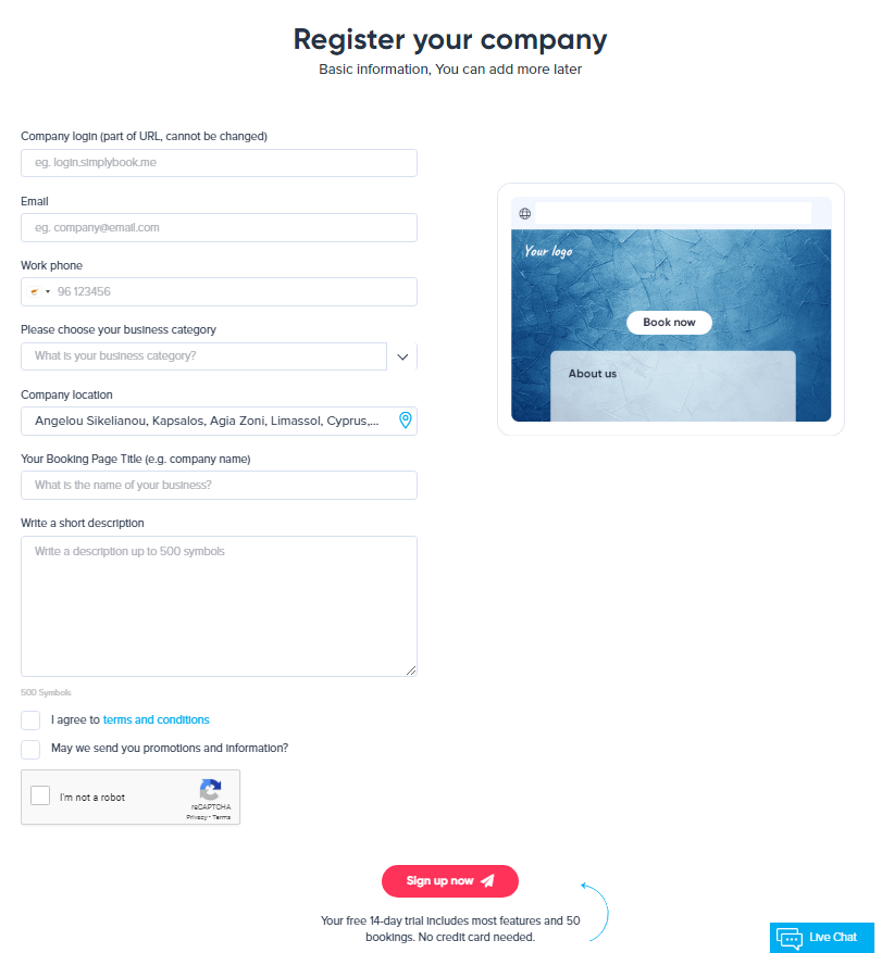 how to get started - register
