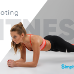 Promoting Fitness Business - woman doing plank