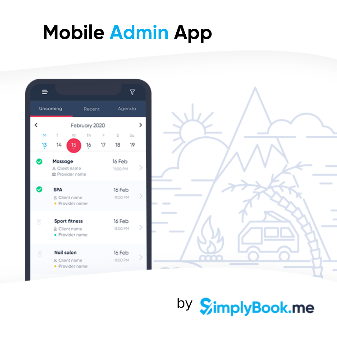 New integrations in the mobile app