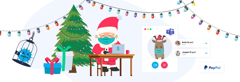 Scheduling Santa 2020