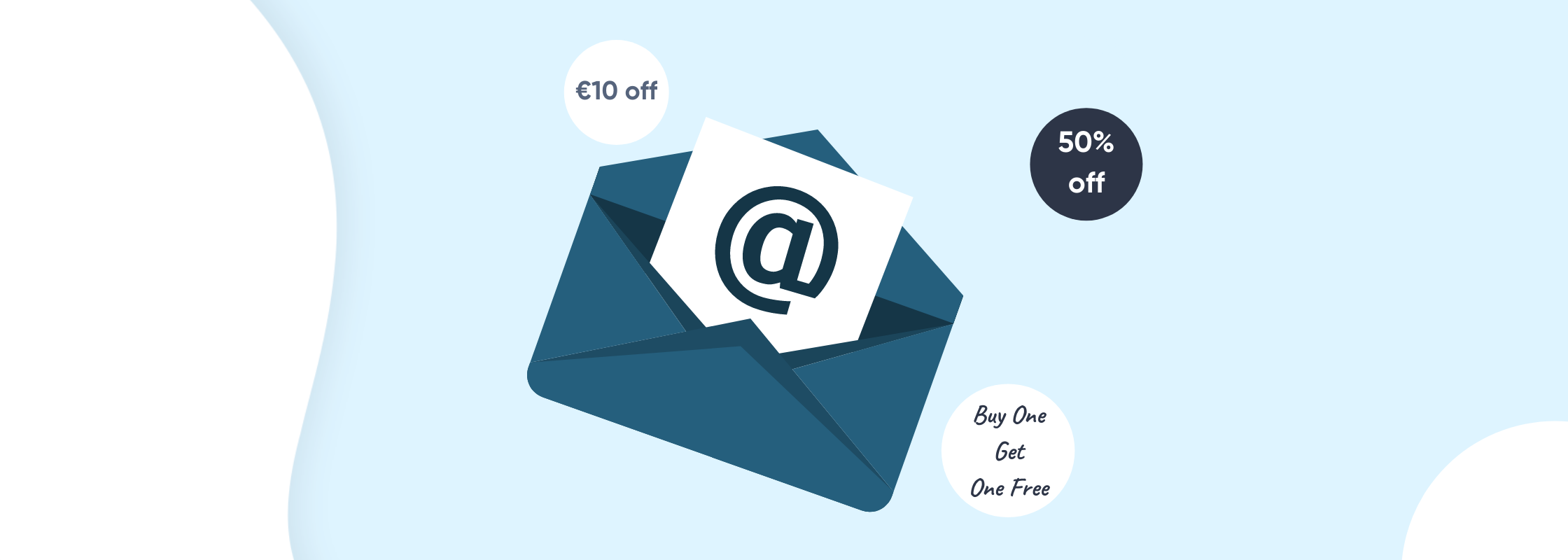 Vouchers in Email