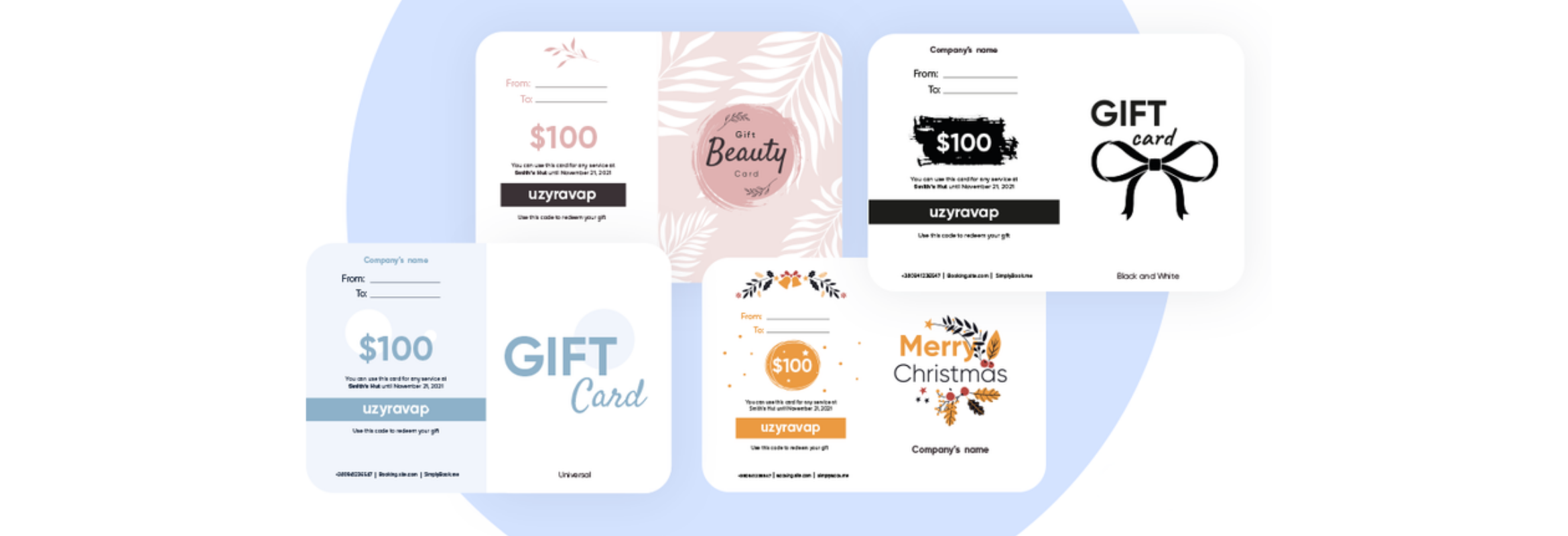 new gift card designs