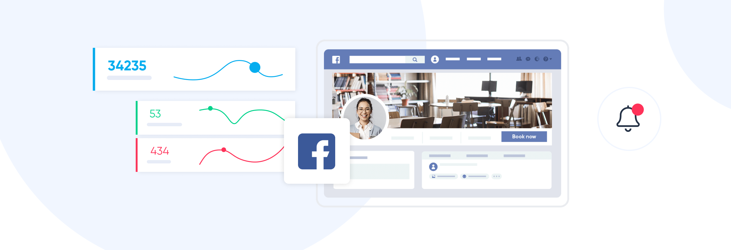Facebook business page posting