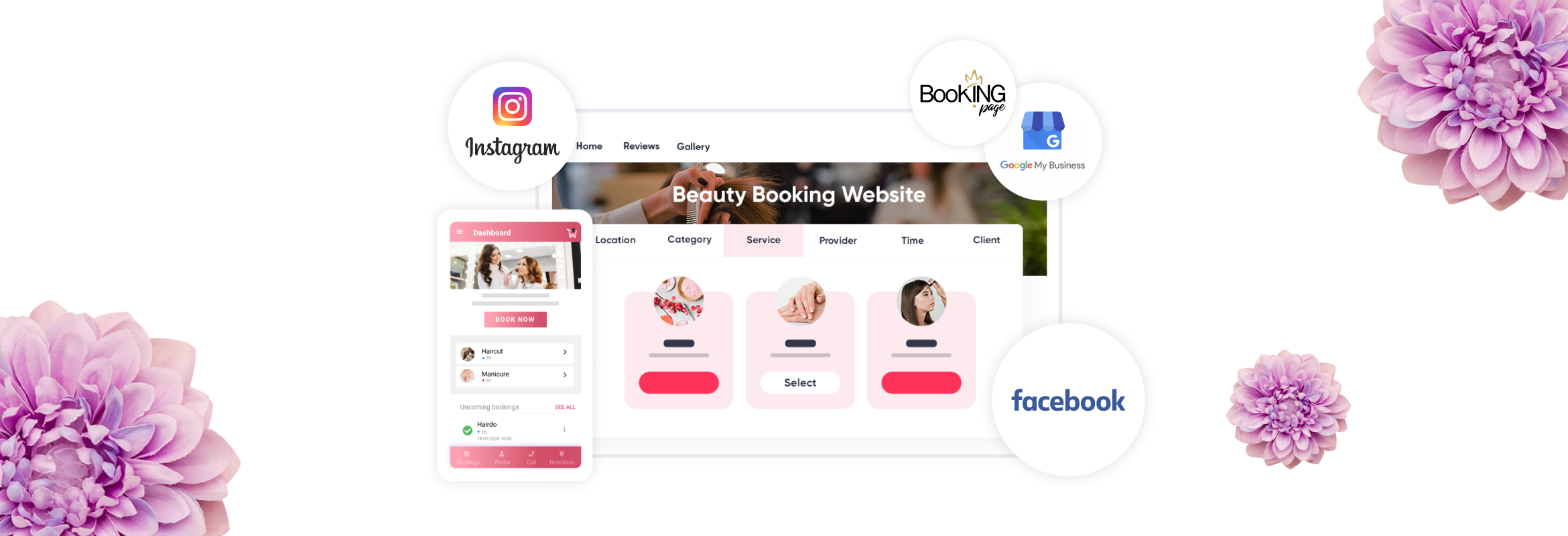 scheduling management platform - SimplyBook.me, the best option for beauty and wellness