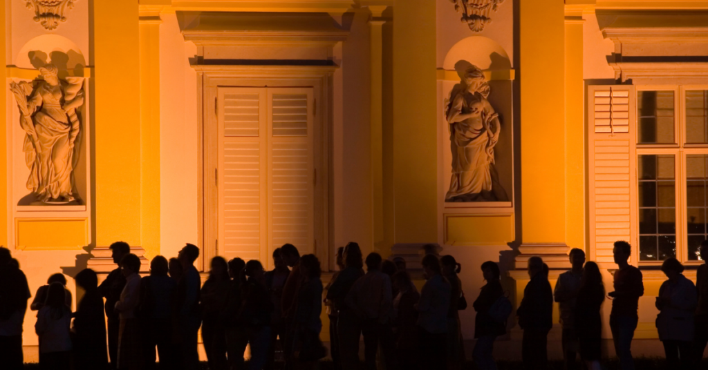 Scheduled entertainment - Uffizi queue