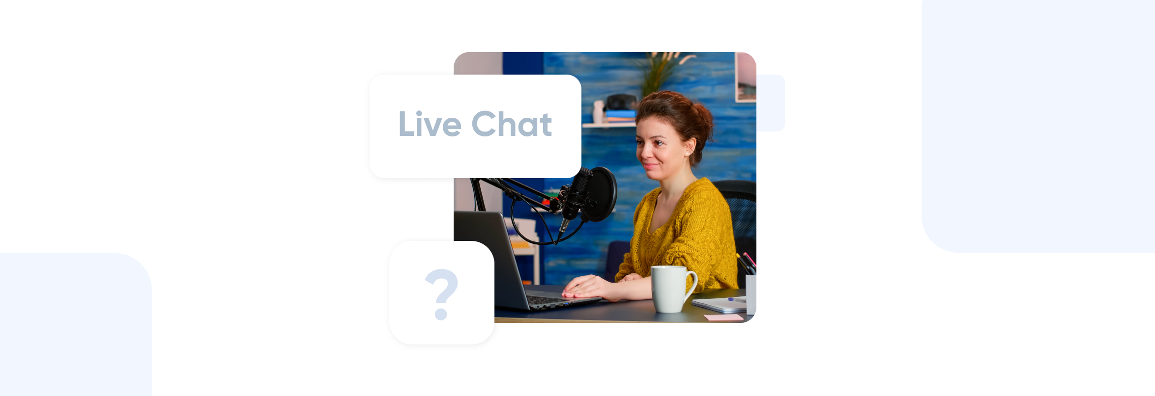 Live chat support at SimplyBook.me