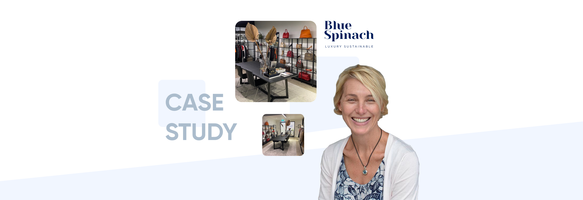 Blue Spinach Sustainable Luxury Resale and Retail